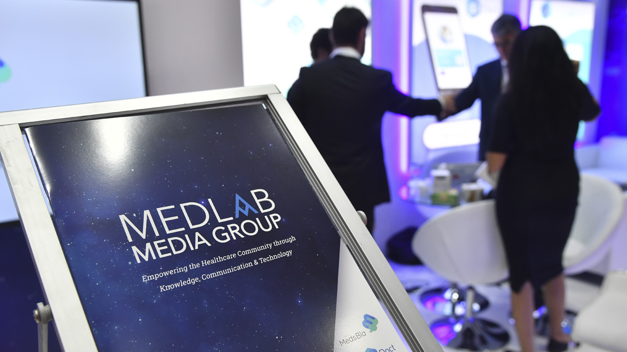 MedLab Media Group in Arab Health.