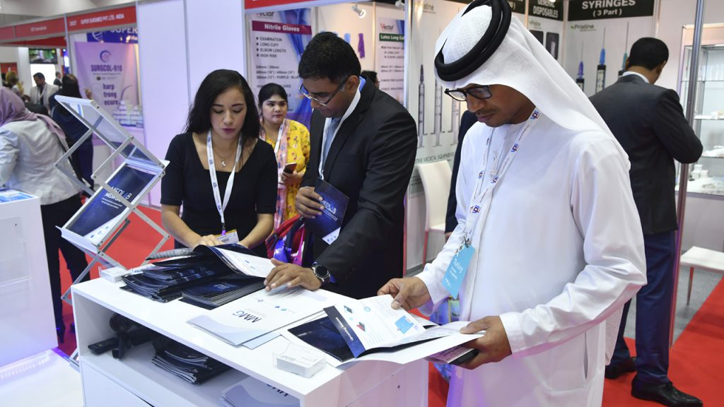 MMG arouses interest in Arab Health.
