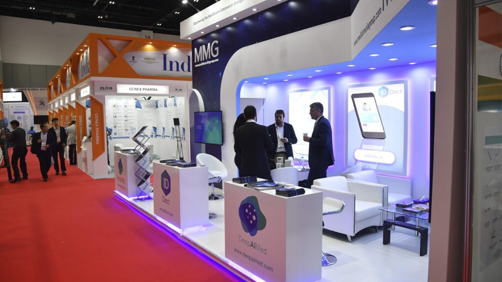 MMG presents at Arab Health.