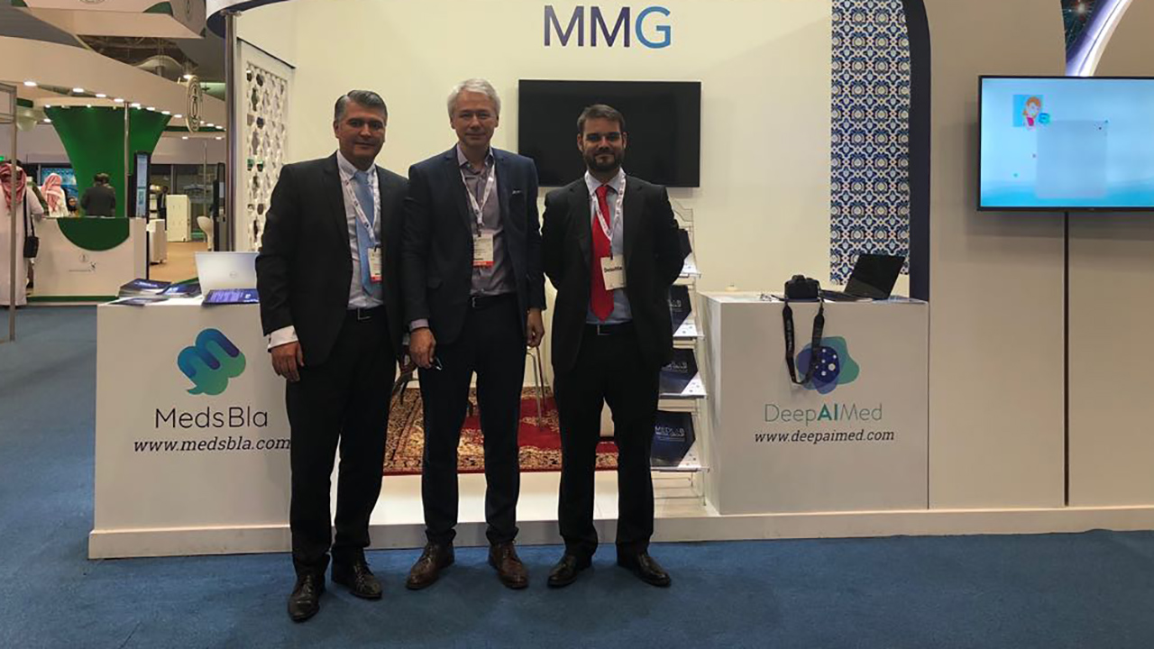 MedLab Media Group en la Global Health Exhibition